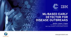 ML-based early detector for disease outbreaks