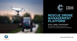 Rescue drone management platform