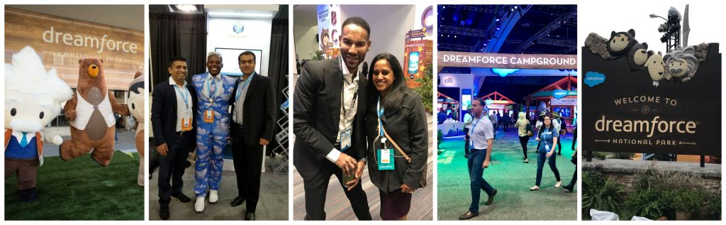 Team Persistent Systems at Dreamforce 2018