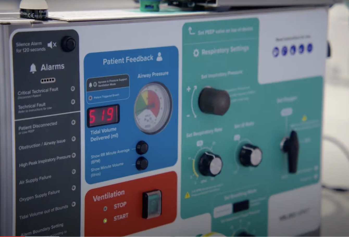 Persistent Client Success - Designing a lifesaving ventilator in just 46 days
