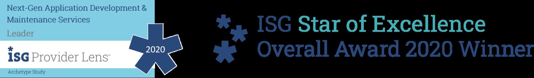 ISG Provider Lens™ 2020– ISG Star of Excellence Award 2020