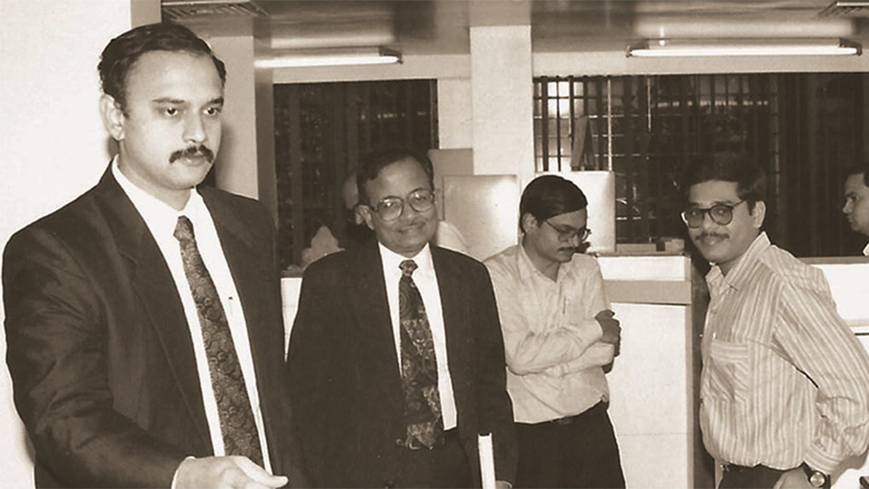 Gratitude to Padma Bhushan Mr. N. Vittal