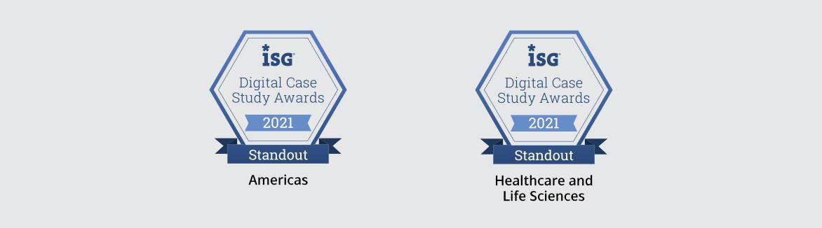 isg digital case study awards new 2021